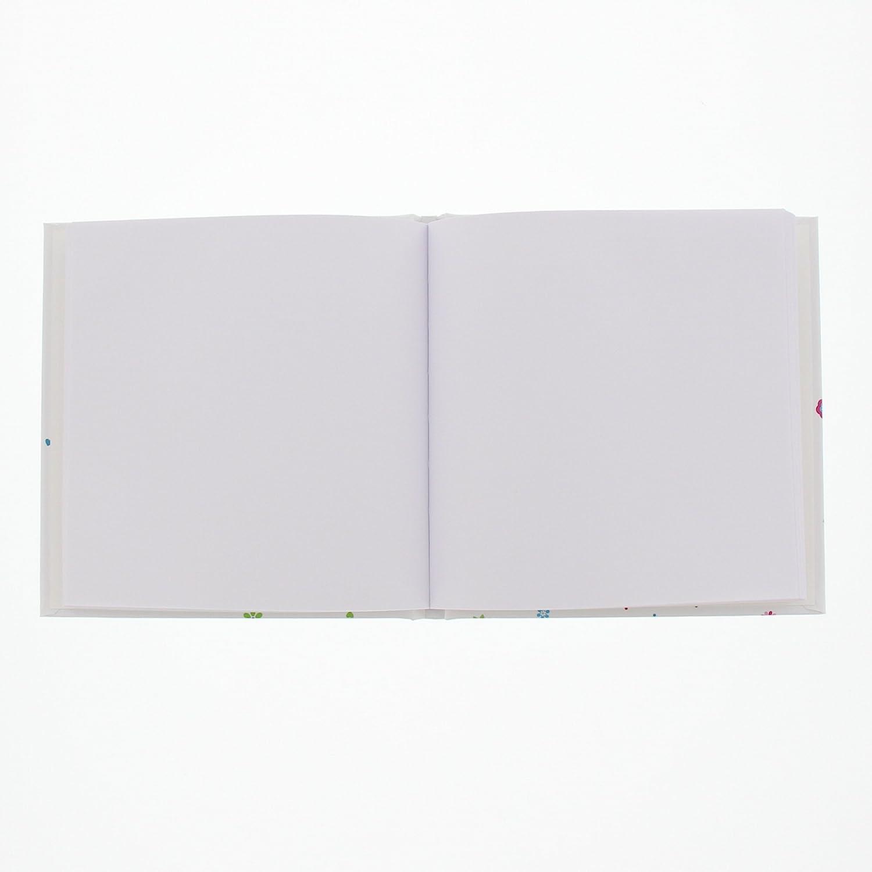 Laminierter Kunstdruck Goldbuch Ordner A4 Wei/ß R/ückenbreite 5 cm Eule 35043