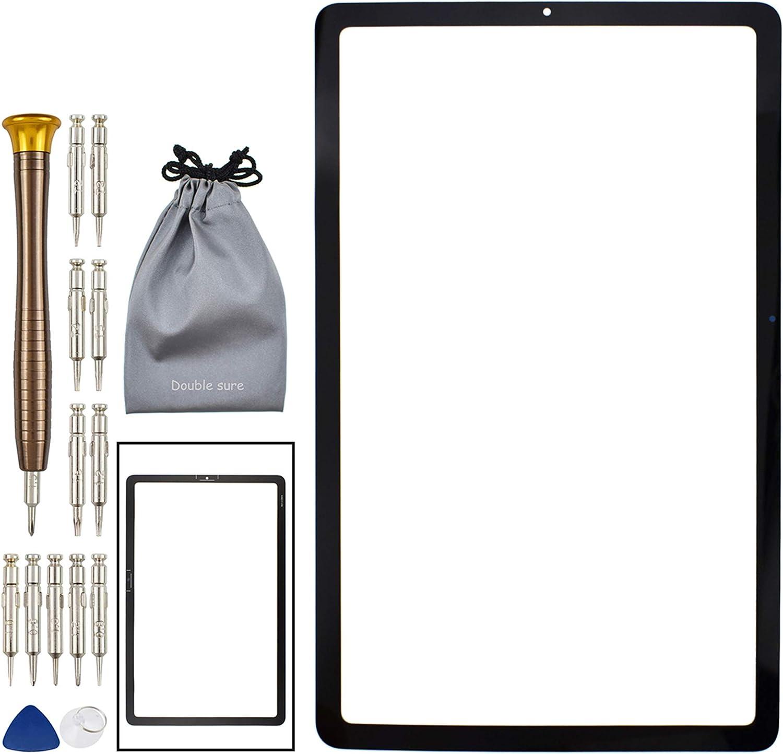 Pantalla de vidrio exterior para Samsung Galaxy Tab S6 Negra