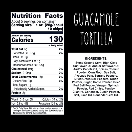 Food Should Taste Good, Tortilla Chips, Guacamole, Gluten Free Chips