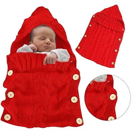 Bonice - Saco de dormir para bebé, niña y niño, bonita nana de felpa
