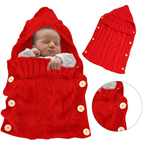 Bonice - Saco de dormir para bebé, niña y niño, bonita nana de felpa, manta cálida para ...