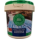 Gaia Green Glacial Rock Dust 2kg - Remineralize Your Soil and Activate The Microorganisms for Healthier Plants and a More Vib