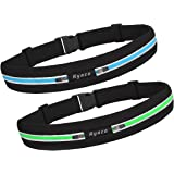 Ryaco [2 Packs] R901 Running belt, Outdoor Sports Sweatproof Reflective Waist Pack, Fitness Workout Belt, Race Belt, Fanny Pack, Workout Pouch for iPhone 7/7 Plus,6S/6S Plus,5/5S/SE