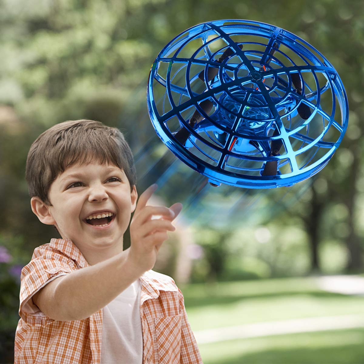 Oucles Mini Drones for Kids and Adults Ball with 360° Rotating and Shinning LED Lights, Flying Toy for Boys Girls and Kids Gifts by Oucles (Image #6)