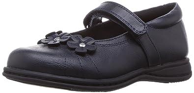 9d08fb38f7c2 Rachel Shoes Girls  Lil Kelsey School Uniform Shoe Navy Smooth 5 M US  Toddler