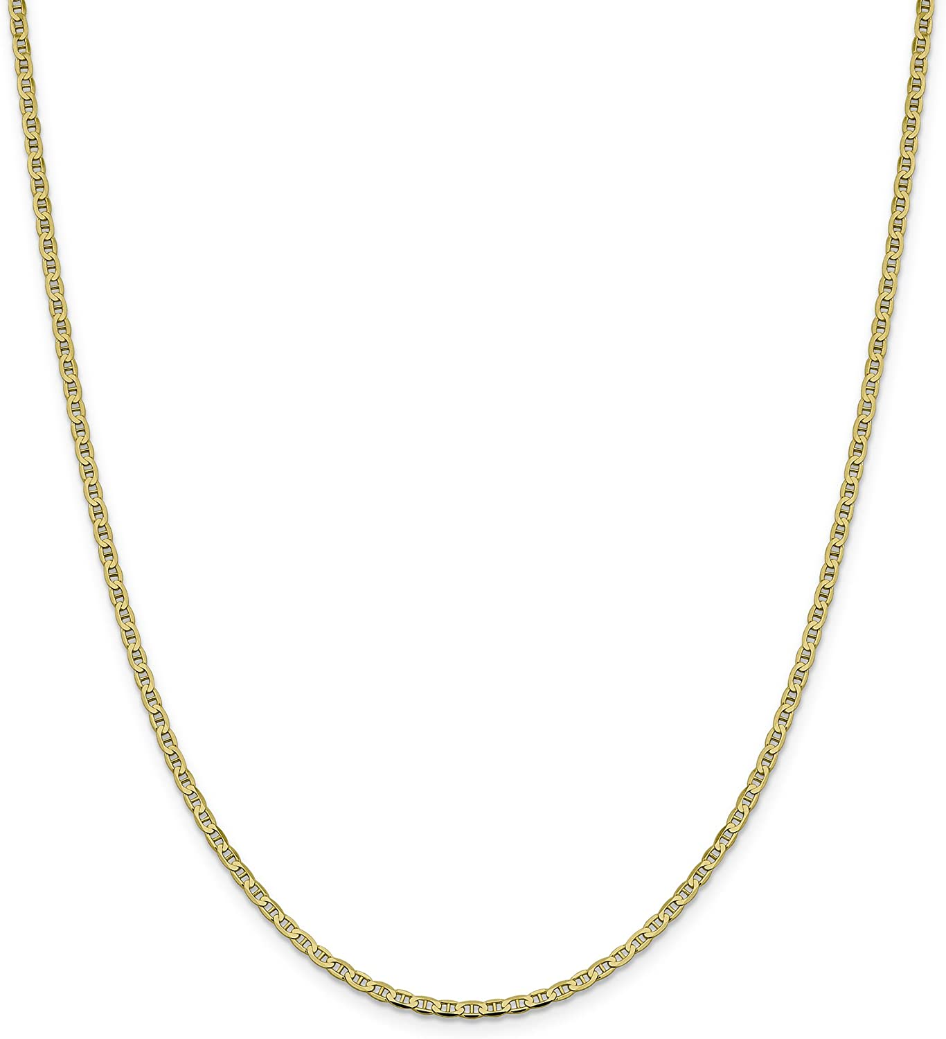 Leslies 14K Yellow Gold Box Chain Bracelet Anklet with Lobster Clasp 9 inch