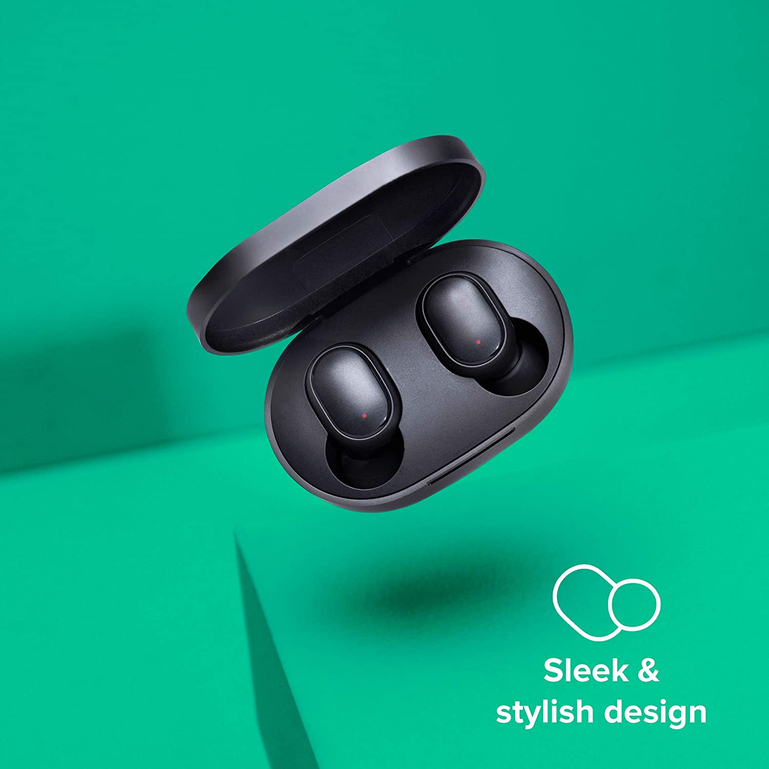 Redmi Earbuds S, Punchier Sound,Up to 12 Hours of Playback time, IPX4 Sweat & Splash Proof& DSP Environmental Noise Cancellation