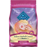 Blue Buffalo Indoor Hairball Control & Weight Control Natural Adult Dry Cat Food, Chicken & Brown Rice