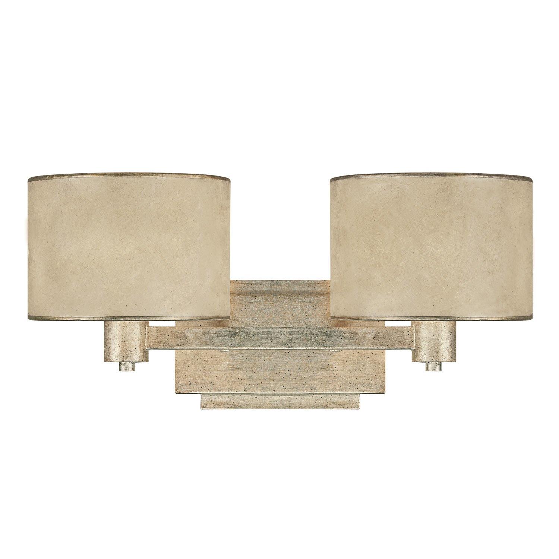 Capital Lighting 1007WG 410 Lenox 2 Light Vanity Fixture, Winter Gold      Amazon.com
