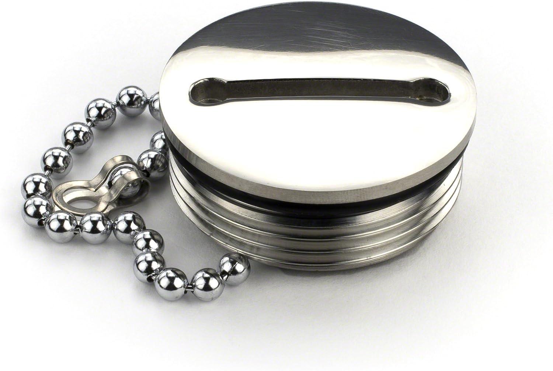 Whitecap Replacement Cap & Chain f/6123, 6123, 6125 & 6126