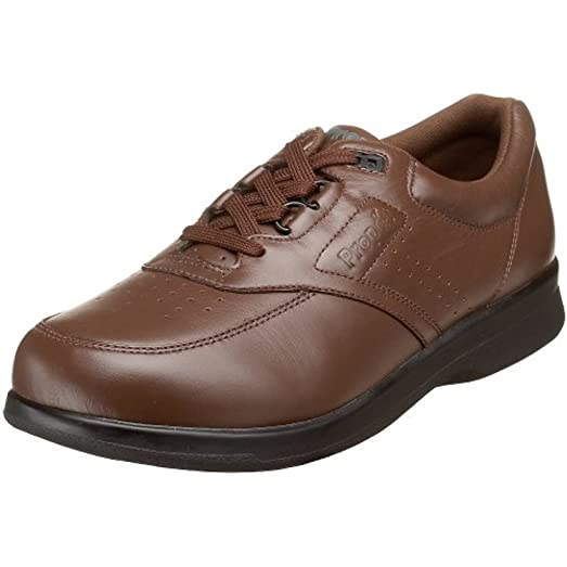 Propet Men's Vista Strap Shoe Brown 11 X (3E) & Oxy Cleaner Bundle