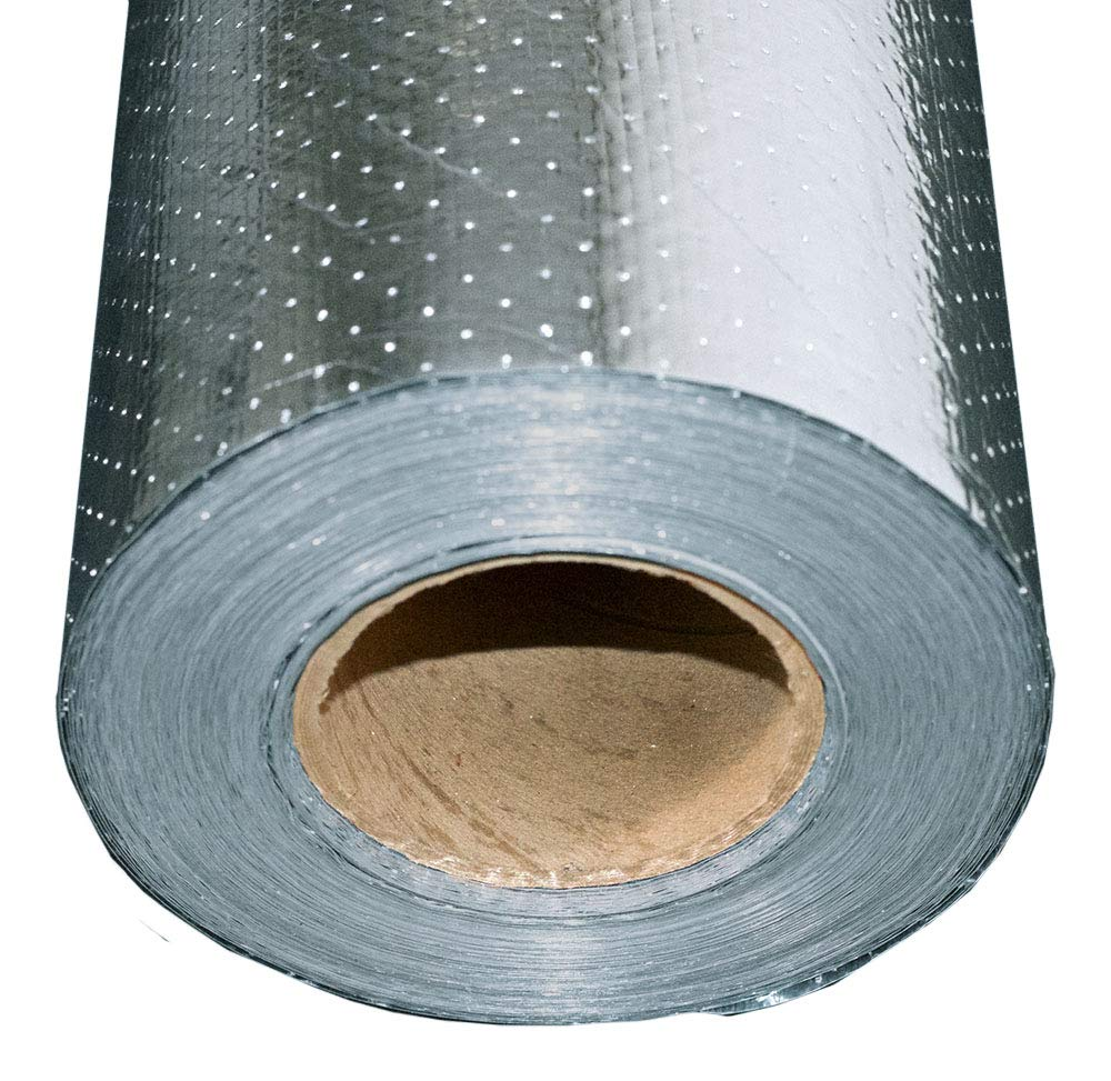 1000 sqft Radiant Barrier Rodent Proof Scrim Perforated Insulation 4x250 Strong
