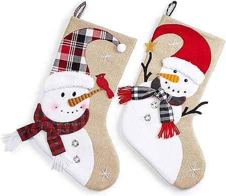 Remplir Toile Chaussettes Noël Bonhomme Deux Décoratives Deco Jute Beige De Accrocher À Et Heitmann Neige Set En Bottes Père qUMzVSpG