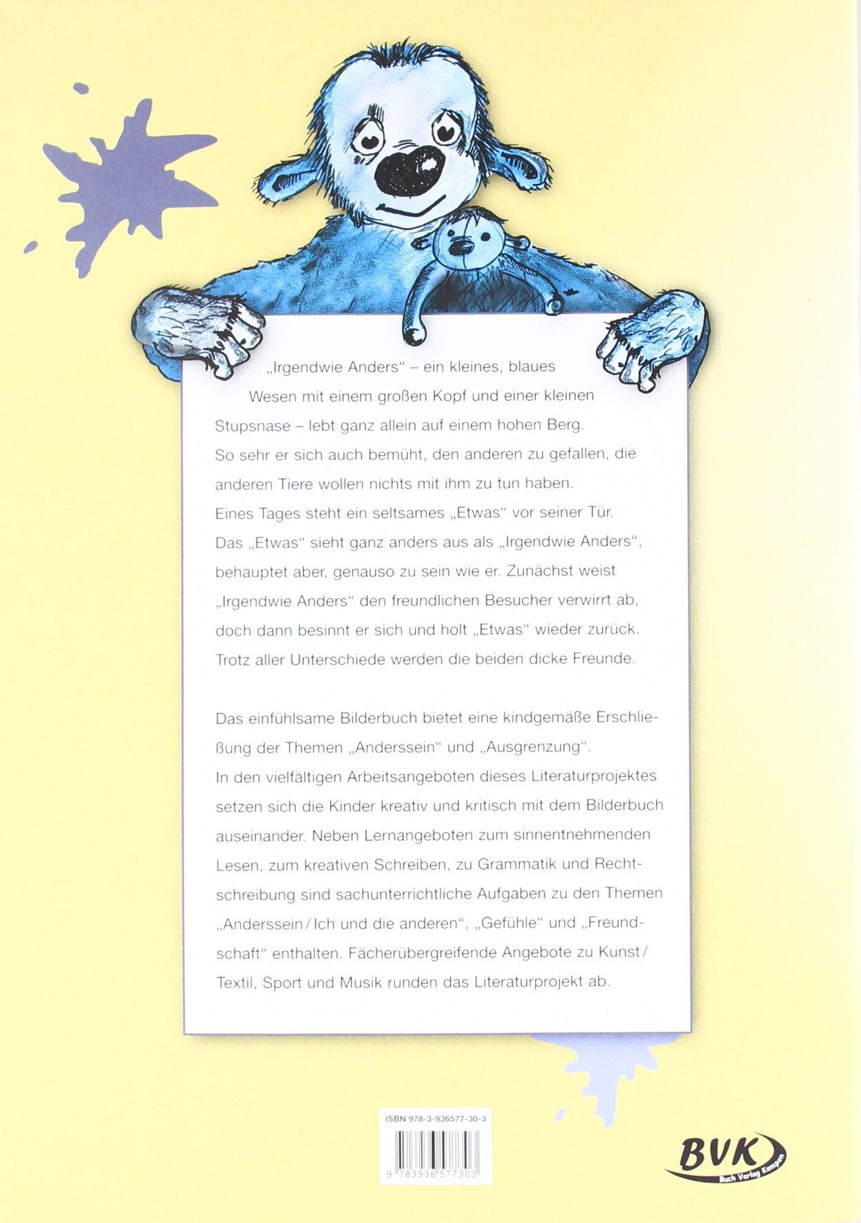 Literaturprojekt Irgendwie Anders 2 Und 3 Klasse Gs Und So Schule