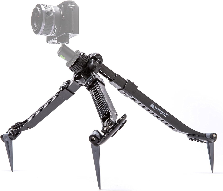 Smartphone /& VR 360 Cameras GoPro DSLR Worlds Most Versatile Camera Mount Pakpod Packable Tripod for Mirrorless