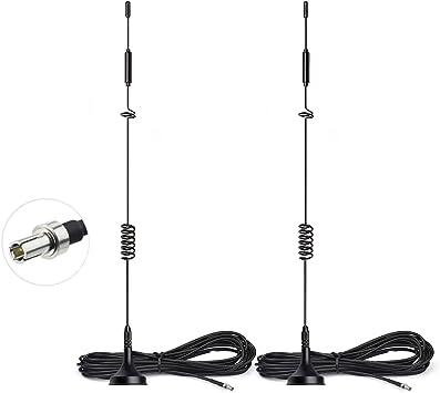 2-Pack Mini TS9 Antenna for Verizon AT/&T 4G LTE Modem MiFi Mobile WiFi Hotspot