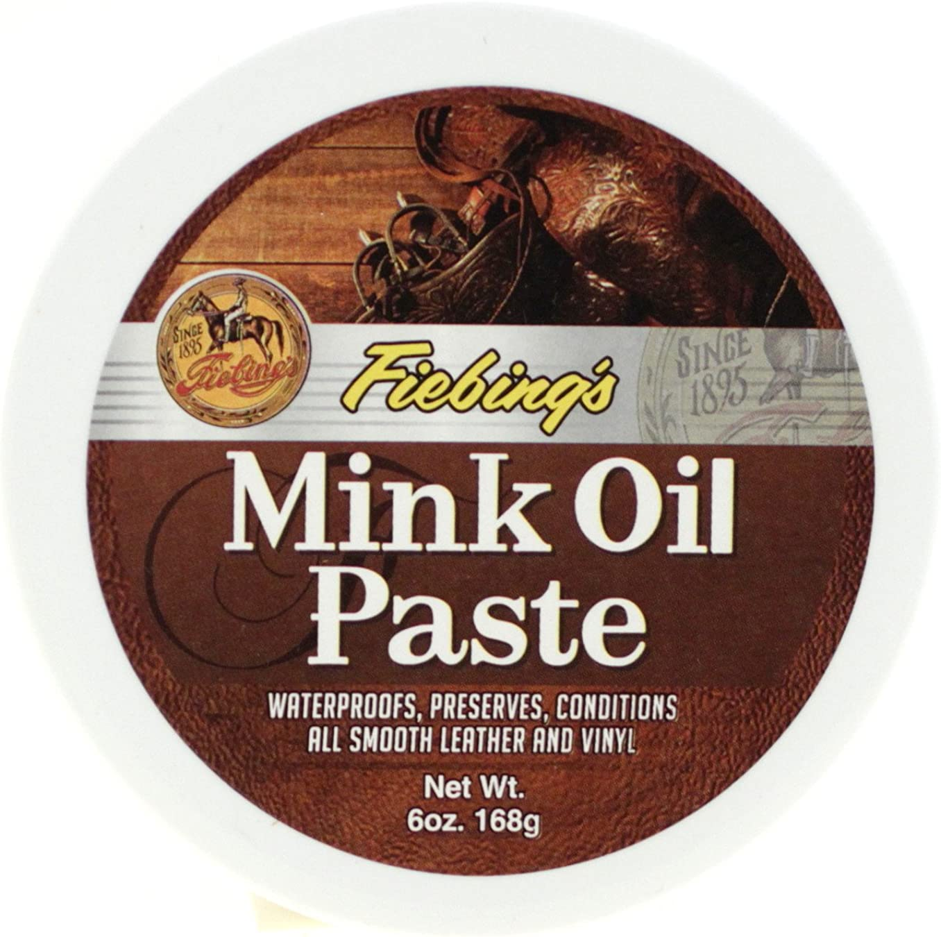 Fiebings Mink Oil Paste For Smooth Leather And Vinyl Condition And Protect
