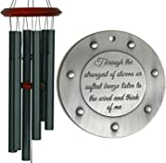 Ships Directly TODAY Large Best Seller Memorial Gift Sympathy Wind Chime Rush Shipping for Funeral Loss in Memory of Loved O