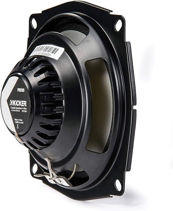 KICKER psc654 (42psc654) psc65 (160 mm) Powersports de 16,5 cm coaxial altavoces impermeables, potencia: Amazon.es: Coche y moto