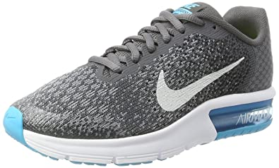f8b30db514 Nike Girls Air Max Sequent 2 (Gs) Competition Running Shoes: Amazon ...