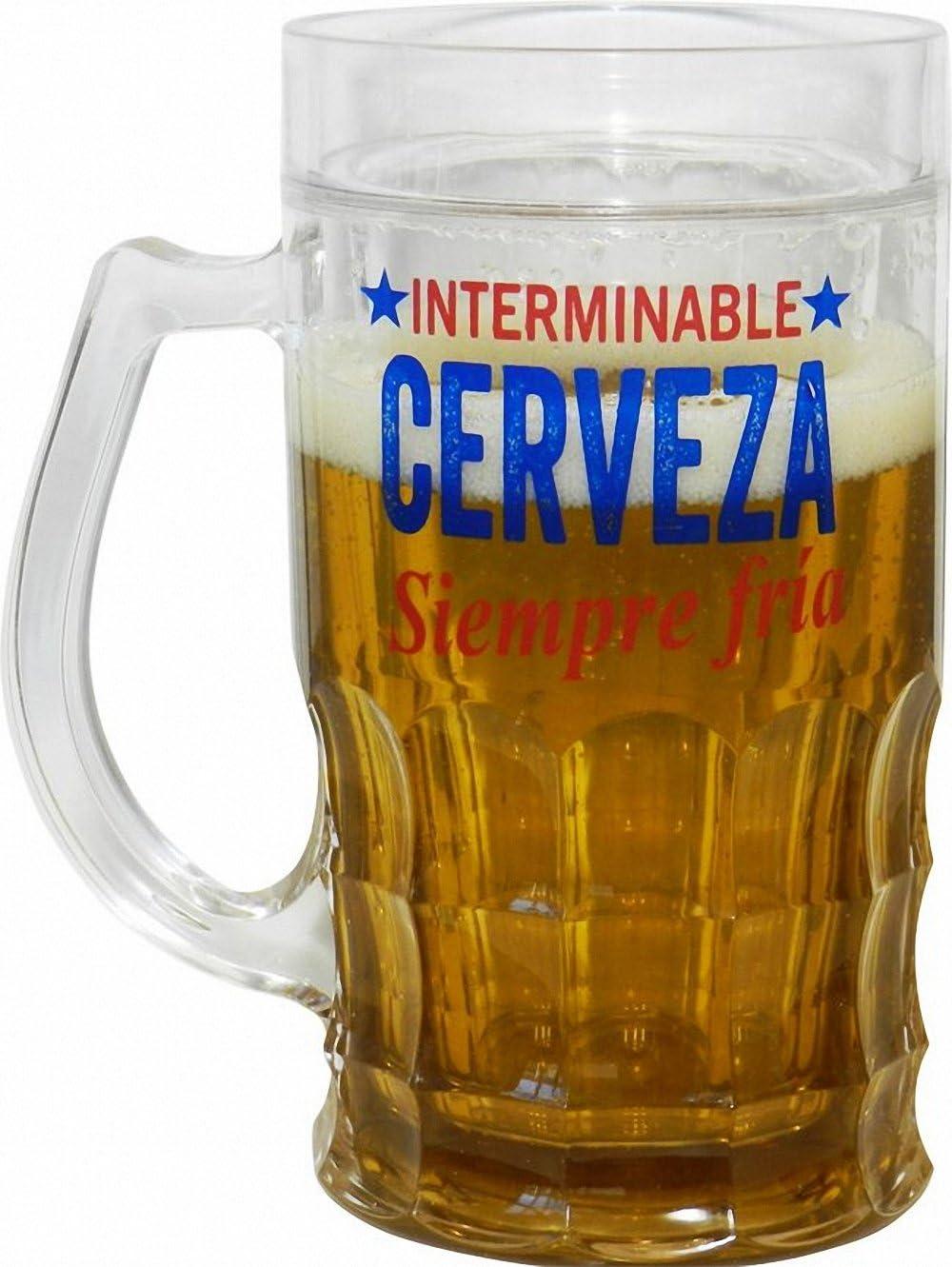 Blue Sky JARRA DE CERVEZA ENFRIADORA INTERMINABLE FRIA HELADA