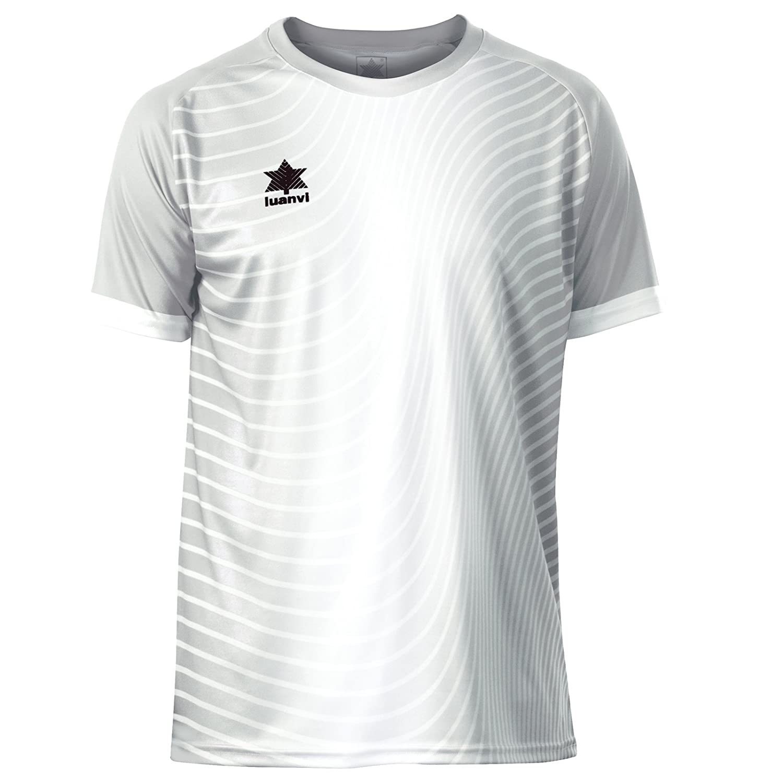 Luanvi Rio Camiseta de Fútbol, Unisex Niños: Amazon.es: Deportes y aire libre