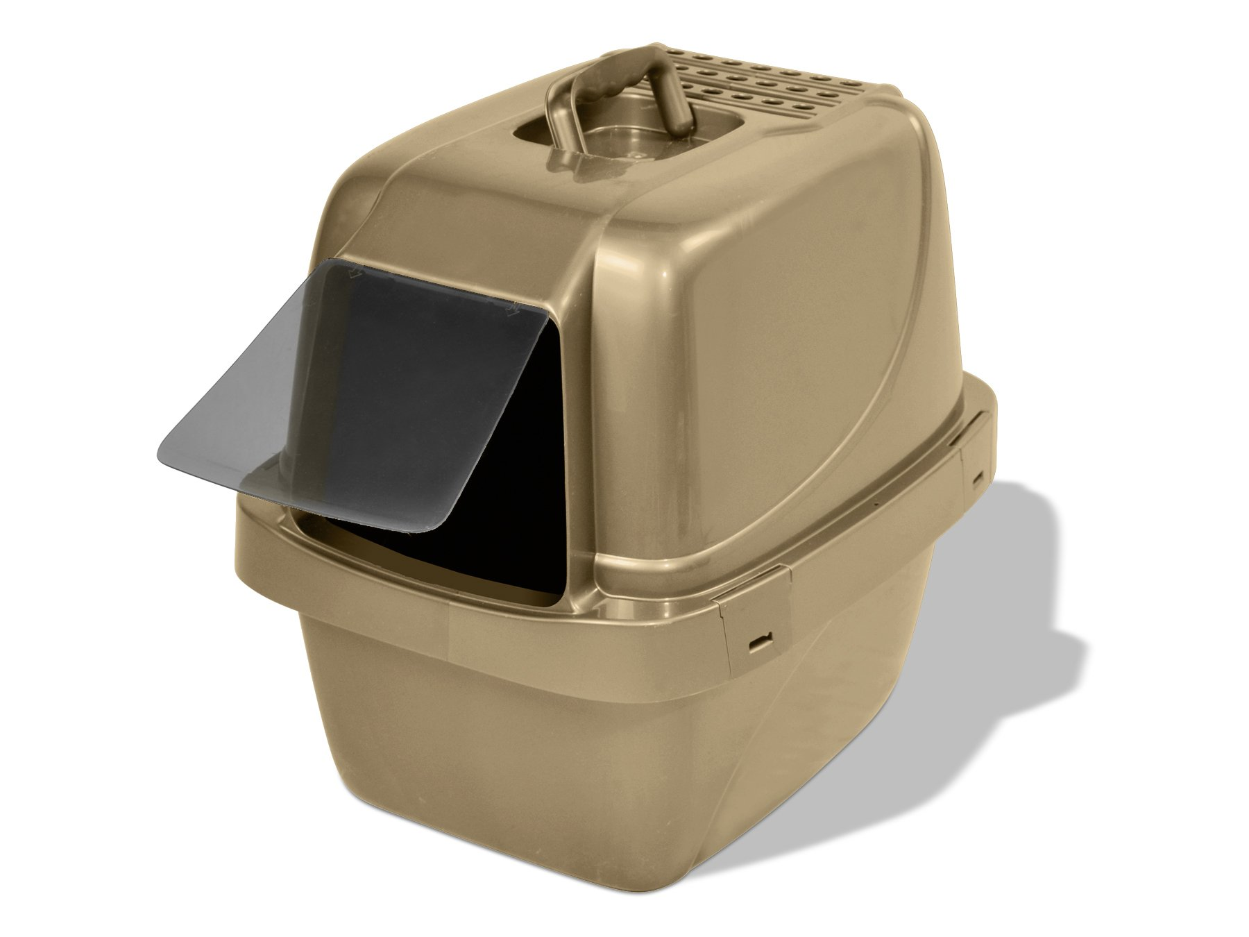 Van Ness CP66 Enclosed Sifting Cat Pan/Litter Box, Large by Van Ness