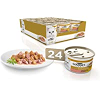 Purina Gourmet Gold Bocaditos en Salsa comida para gatos con Salmon y Pollo 24 x 85 g