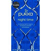 Pukka Night Time Herbal Tea Bags, 20 Count, 1 Grams