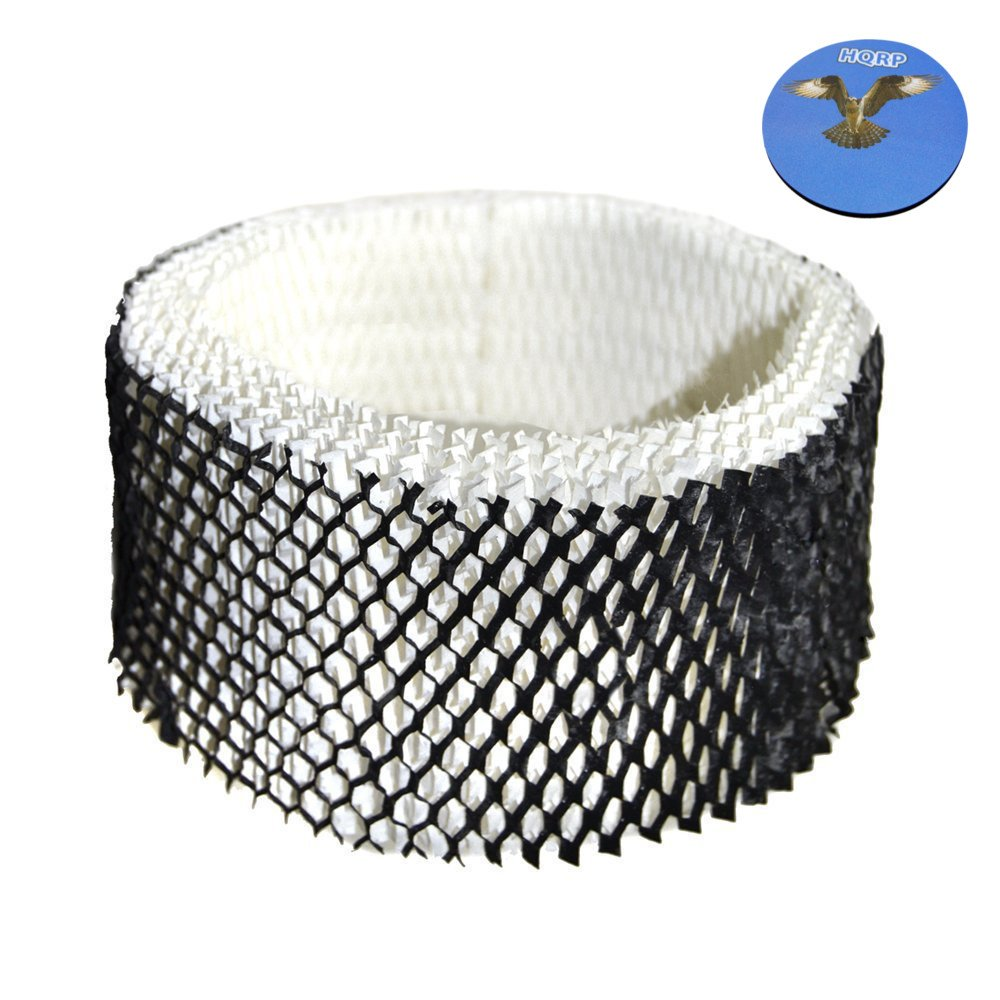 HQRP Wick Filter for Hamilton Beach #05910; 05518, 05519 Humidifiers Wicking Filter Replacement + HQRP Coaster