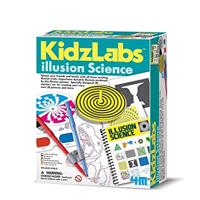 Great Gizmos 4M Kidz Labs Illusion Science: Toys & Games