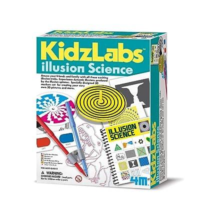 Great Gizmos 4M Kidz Labs Illusion Science: Toys & Games [5Bkhe0204828]