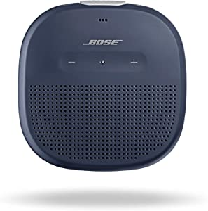 Bose SoundLink Micro, Portable Outdoor Speaker, (Wireless Bluetooth Connectivity), Midnight Blue