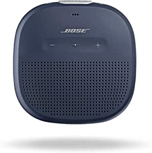 Bose SoundLink Micro, Portable Outdoor Bluetooth Speaker with IPx7 rated waterproof design - Midnight Blue