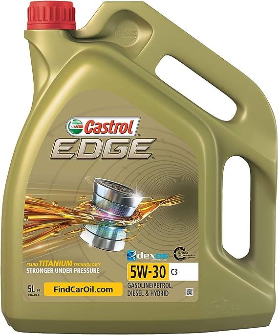 Castrol 468548 Edge C3 5w 30 C3 Motorenöl 5l Auto