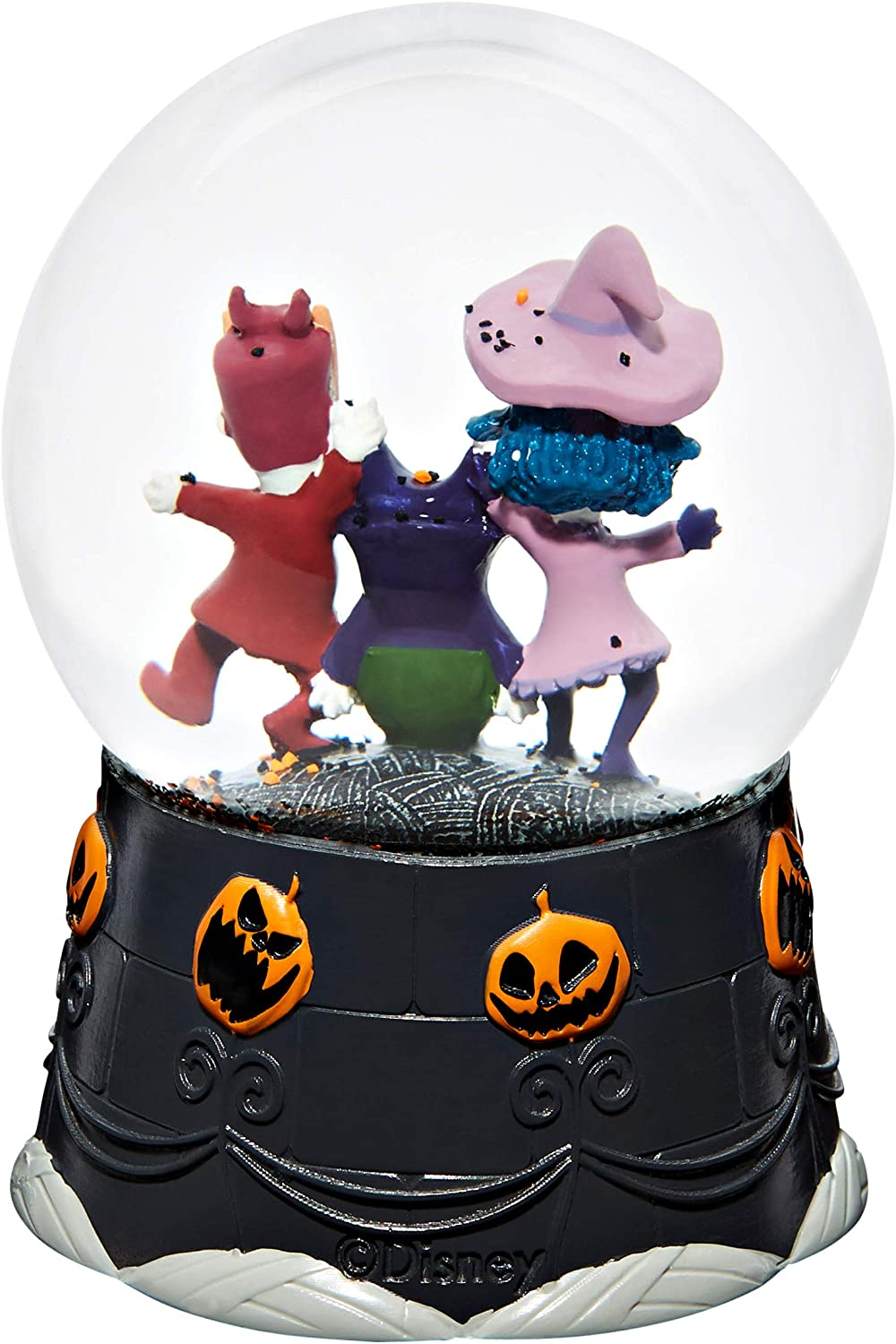 Spirit Halloween Lock Shock and Barrel The Nightmare Before Christmas Snowglobe