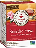 Traditional Medicinals Breathe Easy Tea, 16 Tea Bags