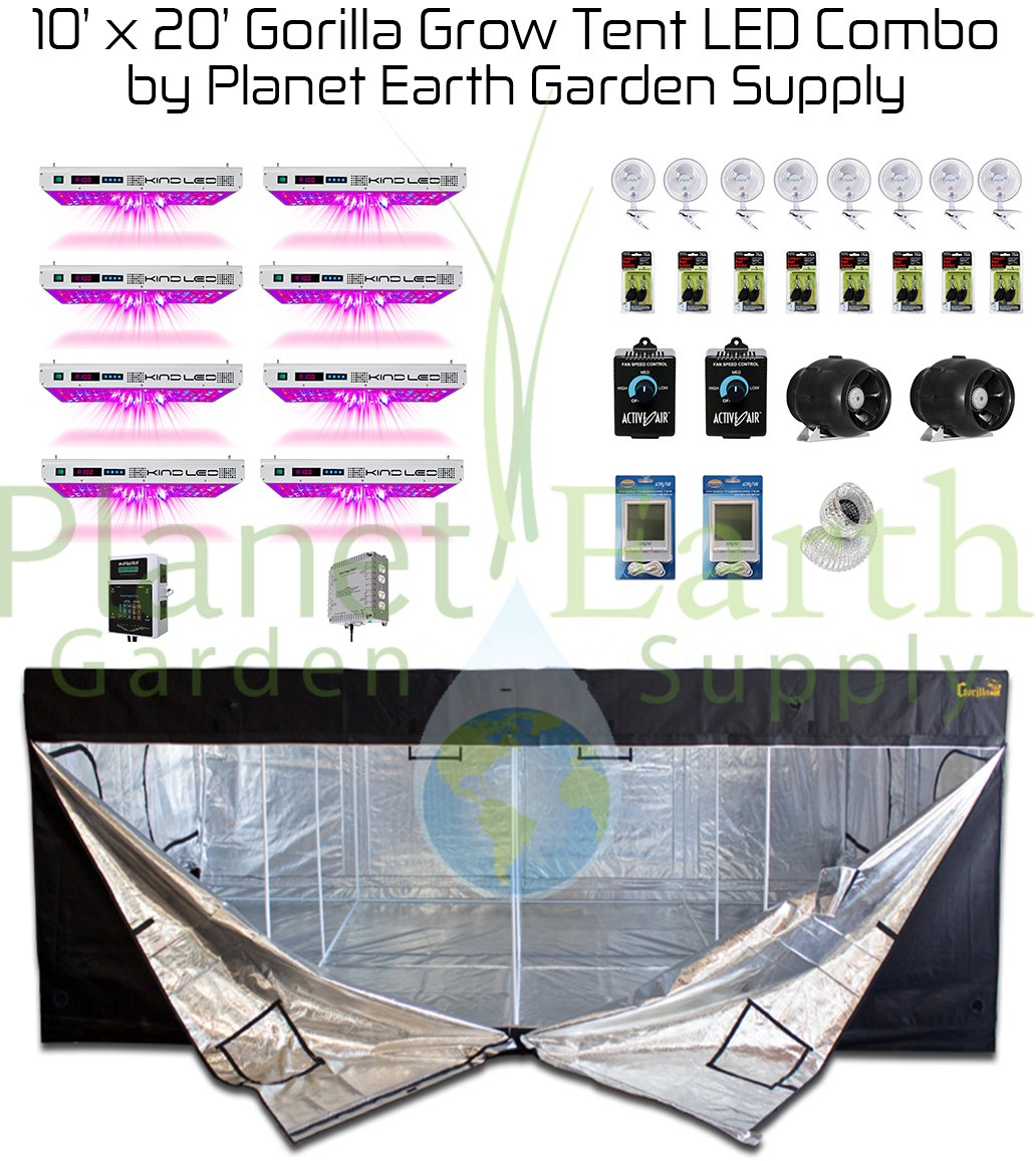 Gorilla Grow Tent Kit 10 x 20 Series With Height Extension – Buy on