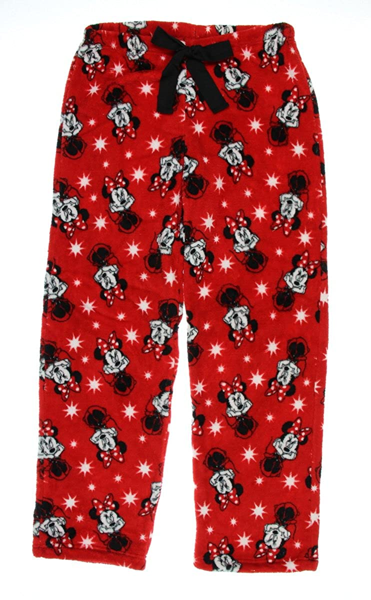 Disney Women's Minnie Mouse Fleece Pajama Lounge Pants