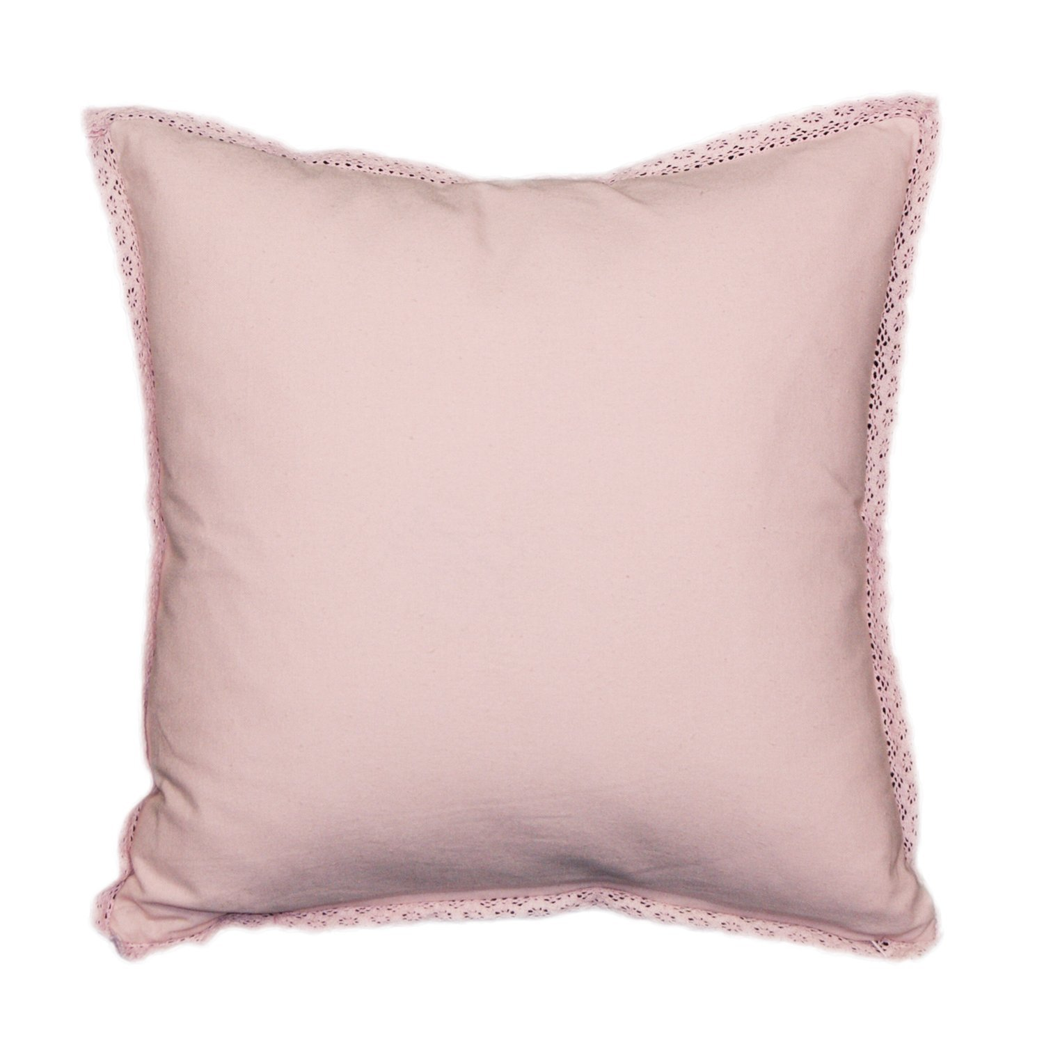 Amazon.com: Urban Loft by Westex Crochet Pink Cushion 18x18 ...
