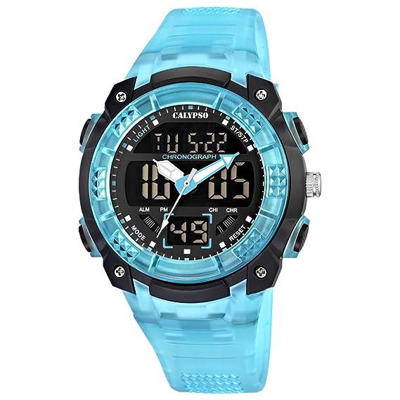 Calypso watches Calypso watches K5601/2 - Reloj digital de cuarzo para hombre, correa