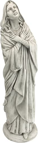 Design Toscano KY47130 Blessed Mother of The Heavens Immaculate Conception Mary Statue