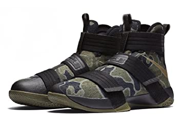 free shipping d1916 de9c5 Image Unavailable. Image not available for. Colour  Nike Men s Lebron  Soldier 10 ...