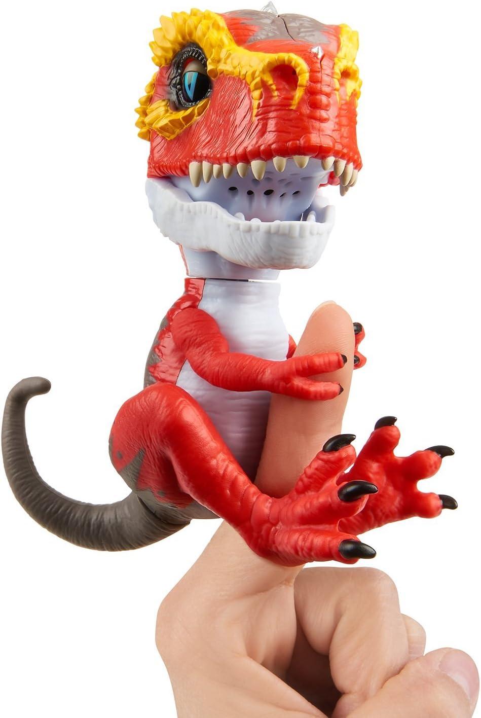 Wowwee- Ripsaw Fingerlings T-Rex, Color Rojo (3786)