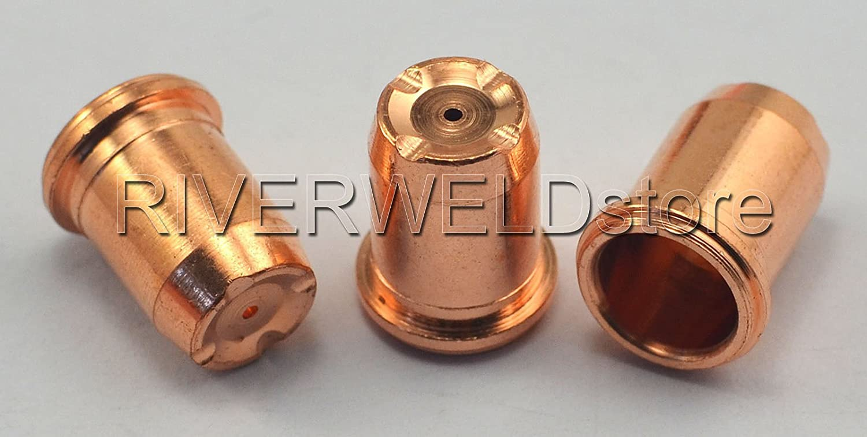 PR0117 Plasma Elektrode und PD0114-10 Lange Spitze 1,0 Sitz S74 S75 Plasmabrenner 20 St/ück