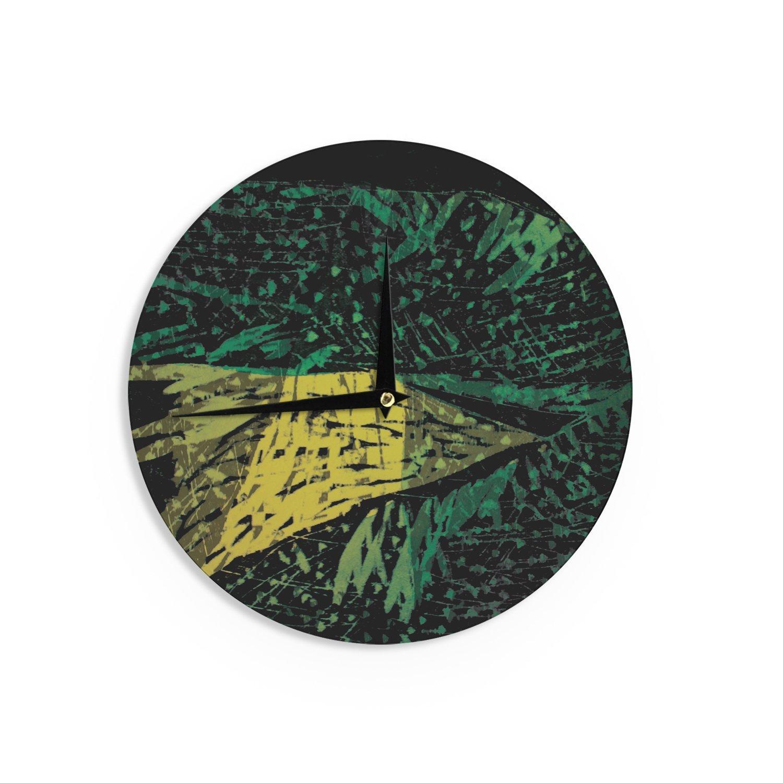 12-Inch Kess InHouse Theresa Giolzetti Family 1 Wall Clock