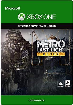 Metro: Last Light Redux | Xbox One - Código de descarga: Amazon.es: Videojuegos