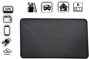 Car Non-Slip Pad High Temperature Resistance, ZHIKE PVC Anti-Slip Mat use for Cell Phone, Sunglasses, Keys and More