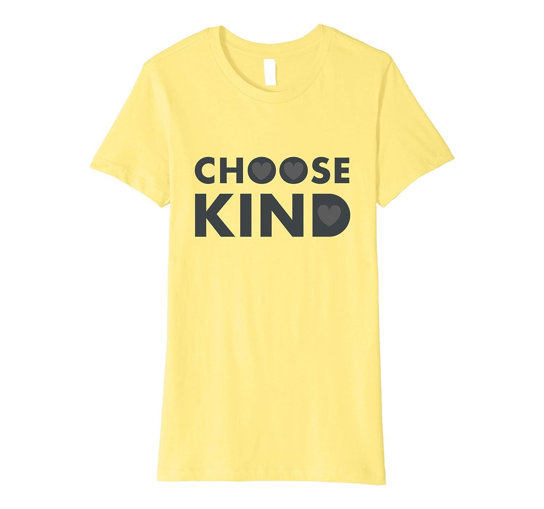 Choose Kind Anti Bullying Heart T-Shirt-Newstyleth