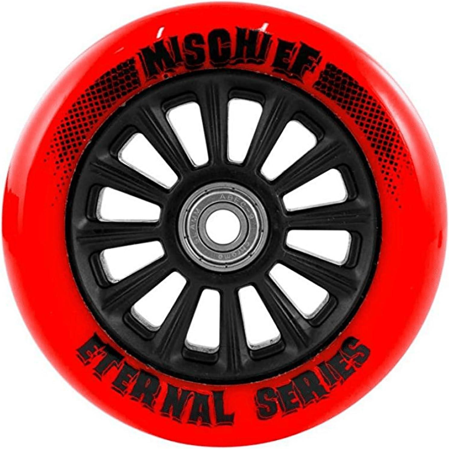 100 mm Red Slamm Scooter Wheel Nylon Core